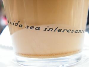 Frase en una taza