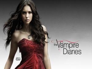 "La bella Elena, protagonista de ""The Vampire Diaries"""