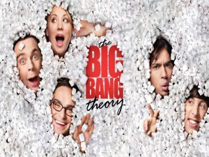 "Cartel de la serie ""The Big Bang Theory"""