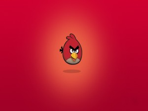 "Red, pájaro de ""Angry Birds"""