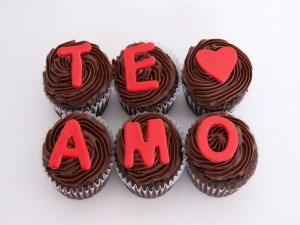 Cupcakes de amor
