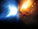 Fuego y hielo convergen en un punto