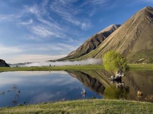 Lago Coleridge (Islas del sur de Nueva Zelanda)