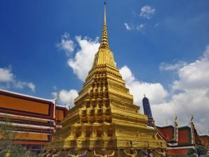 El Wat Phra Kaew (Templo del Buda de Esmeralda)
