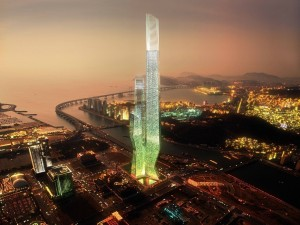 Busan Lotte World Tower (Busan, Corea del Sur)