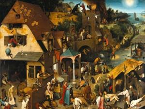 Los proverbios flamencos (Pieter Brueghel el Viejo)