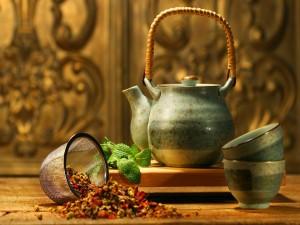 Un rico té aromático