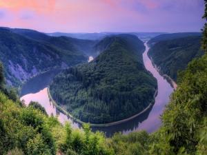 Un hermoso río
