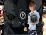 """Personajes del anime """"Death Note"""""""