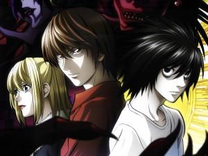 Light Yagami, Misa y L (Death Note)