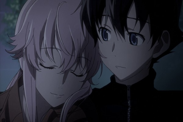 Yukiteru Amano y Yuno (Mirai Nikki)