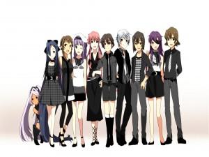 """Personajes de """"Mirai Nikki"""""""