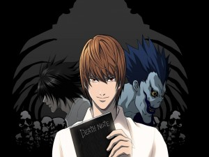 Light Yagami, Ryuk y L (Death Note)