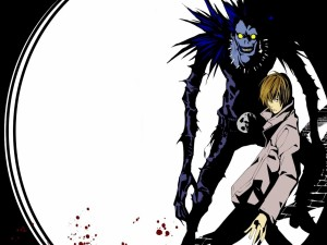 Ryuk y Light Yagami (Death Note)