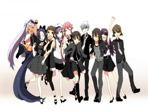 """Los chicos del anime """"Mirai Nikki"""""""