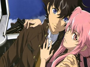 Amor entre Yuki y Yuno (Mirai Nikki)