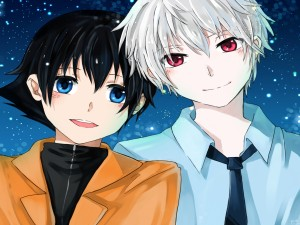 Chicos del anime (Mirai Nikki)