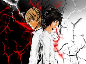 Light Yagami contra L (Death Note)