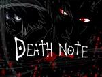 """Los dos protagonistas del anime """"Death Note"""""""