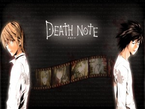 L Lawliet y Light Yagami (Death Note)