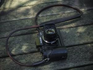 Una cámara de fotos Fujifilm