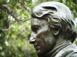 Estatua del juez Baylor