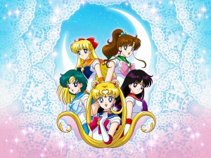 "Las chicas de ""Sailor Moon"""