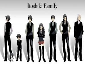 Familia Itoshiki (Sayonara Zetsubō Sensei)