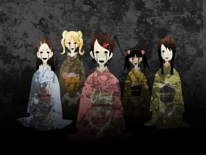 """Alumnas del profesor Nozomu Itoshiki """"Sayonara Zetsubō Sensei"""""""