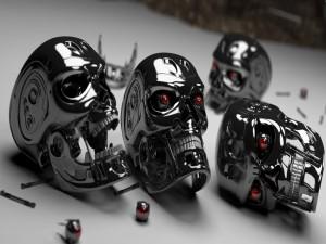 Cabezas de Terminator