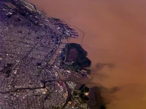 Vista aérea de Buenos Aires (Argentina)