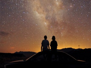 Contemplando la Vía Láctea