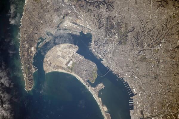 Vista aérea de San Diego (California)