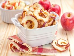 Postal: Manzanas laminadas