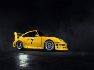 Porsche 911 amarillo