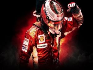 Kimi Raikkonen en Ferrari
