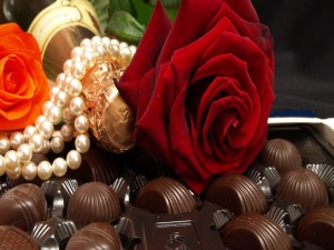 Bombones y rosas