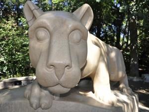 Estatua de una leona
