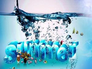Verano bajo el agua