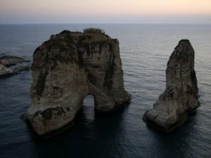 Pigeons' Rock (Beirut, Líbano)