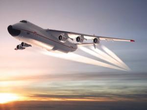 Antonov An-225 Mriya en pleno vuelo