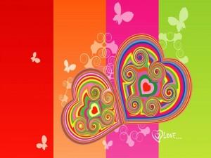 Dos corazones muy amorosos