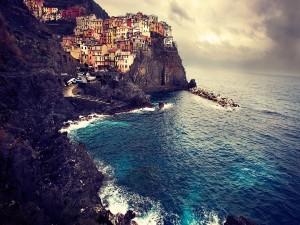 Un bonito pueblo costero