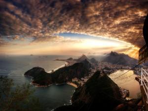 Bonitas vistas de Rio de Janeiro (Brasil)