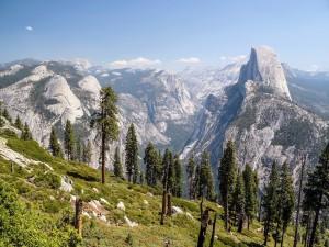 Hermoso paisaje del Parque Nacional de Yosemite