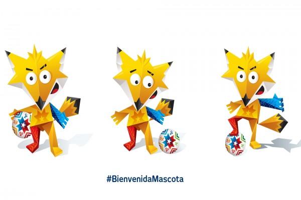 """Zincha, la mascota de la """"Copa de América 2015"""""""
