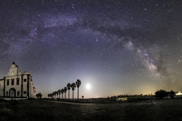 Bonito cielo estrellado