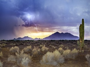 Tormenta eléctrica en Arizona