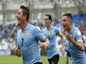 """Uruguay gana a Jamaica (1-0) """"Copa América 2015"""""""