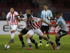"""Argentina empata con Paraguay (2-2) """"Copa América 2015"""""""